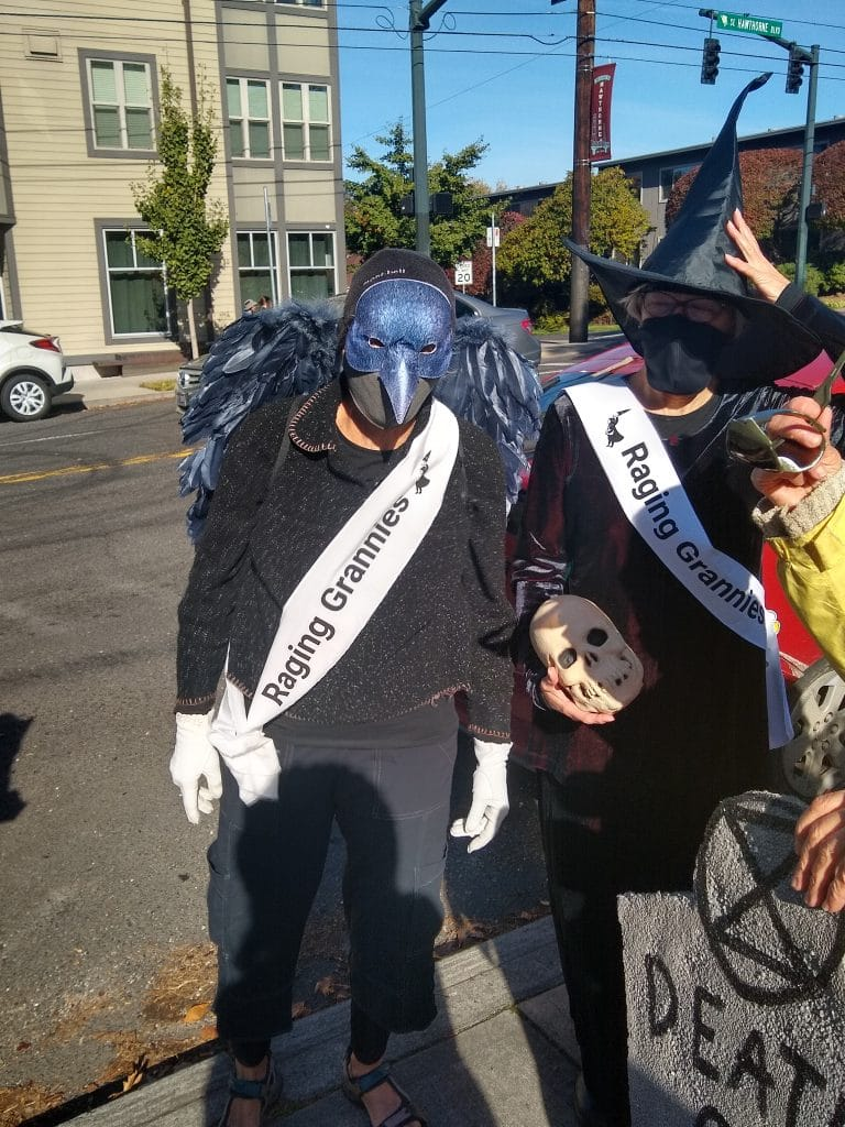 XR Halloween Protest, October 31, 2020