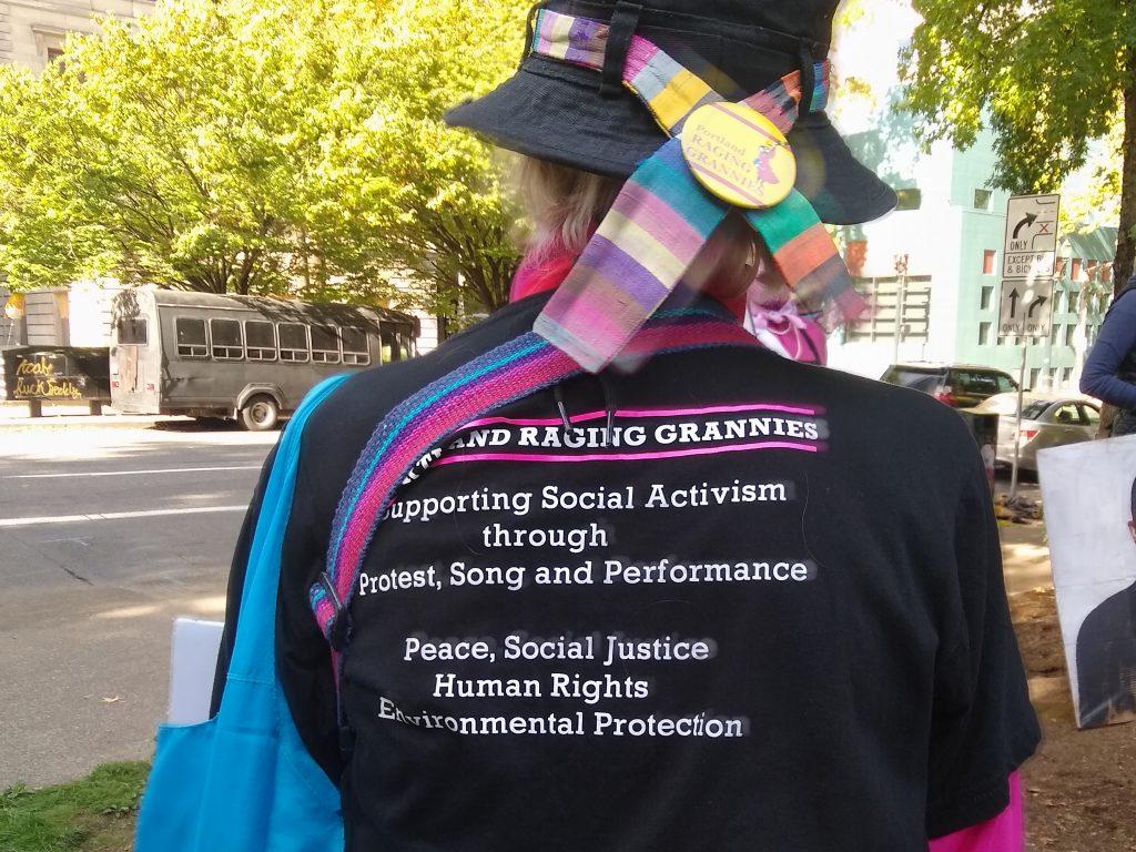 Portland Raging Grannies forever.