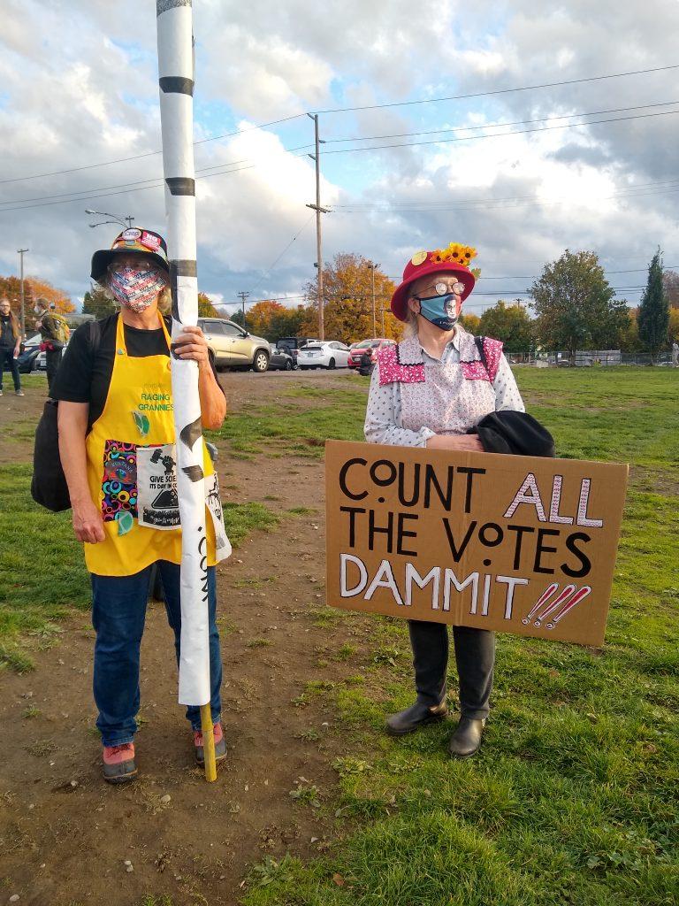 Defend Democracy March, November 4, 2020