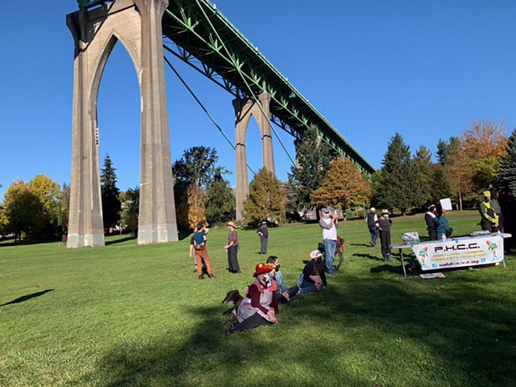 No Military Drone Testing in Portland, November 1, 2020