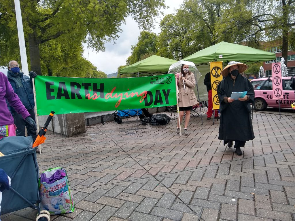 Earth is Dying Day - Extinction Rebellion