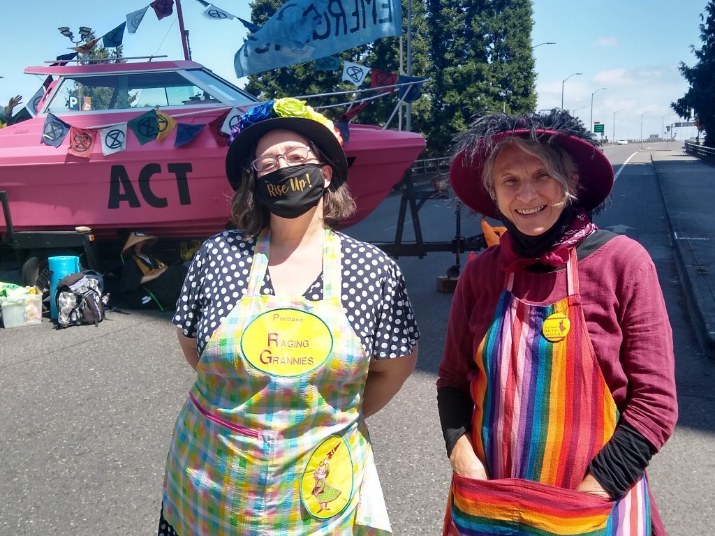 XR PDX and Raging Grannies